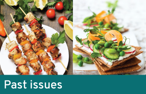 food and beverage past newsletters